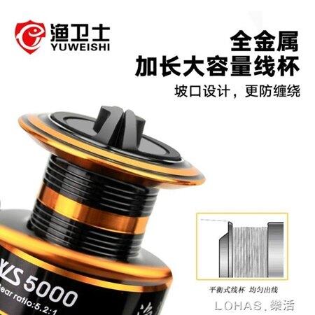漁輪魚輪紡車輪全金屬漁線輪不銹鋼海竿輪魚線輪海桿輪遠投輪 年貨節預購