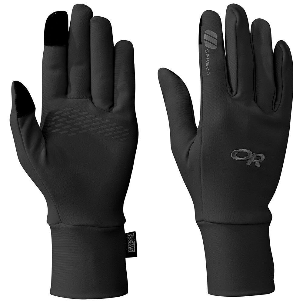 【Outdoor Research】OR 女性經典可觸控內刷毛手套 BASE SENSOR GLOVES 黑色  #243214 旅形
