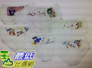 [COSCO代購 如果售完謹致歉意] W37670 男童卡通圖案純棉內褲 6 件入