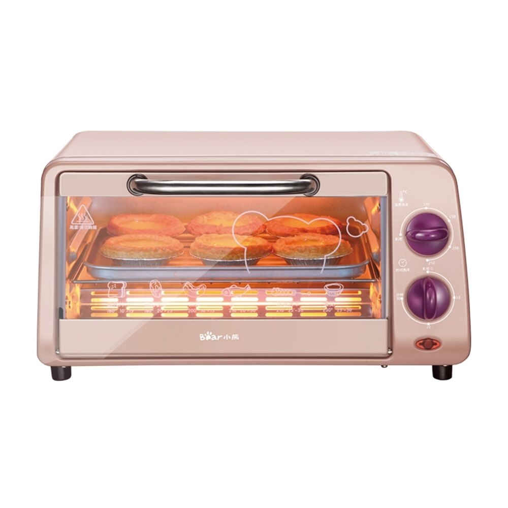 Bear/小熊 DKX-A09A1小型電烤箱家用迷妳小烤箱烘焙機蛋糕機 極客玩家