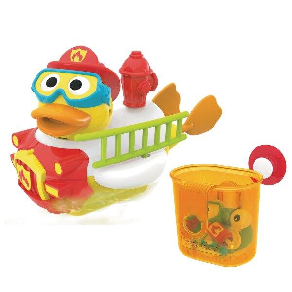 以色列 Yookidoo 戲水玩具-神鴨救援俠 洗澡玩具