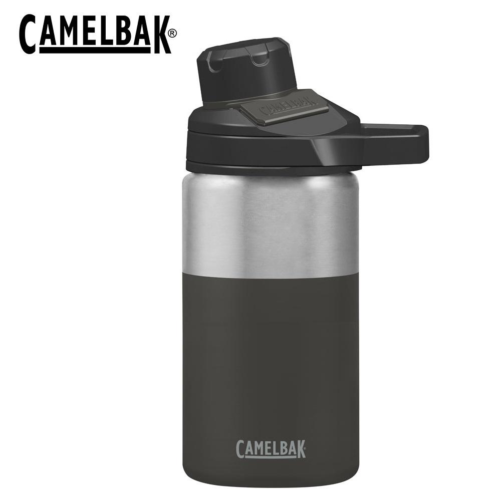 [CAMELPAK] Chute Mag保溫瓶350ml 深黑 / 戶外運動保冰/溫水瓶 / CB1831001040