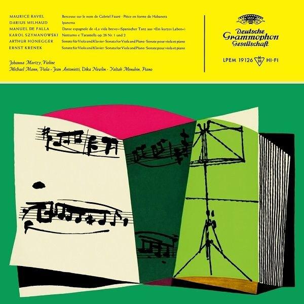 【停看聽音響唱片】【黑膠LP】演奏拉威爾、米堯、法雅、齊瑪諾夫斯基作品 (180g LP)