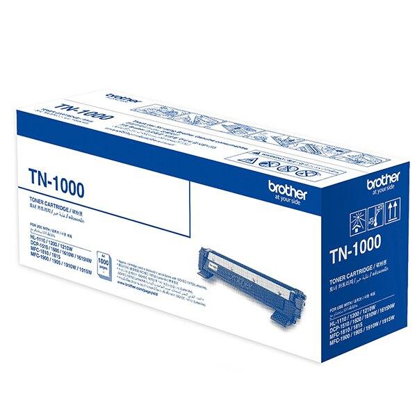 brother TN-1000 原廠黑色碳粉匣《2支內可超取》【免運】