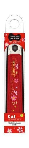 Hello Kitty 指甲刀-櫻花,指甲刀/指甲鉗/指甲剪/修容/銼刀,X射線【C283464】