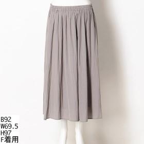 [マルイ]【セール】【Fサイズ】割繊サテンスカート【大きいサイズレディース】/グリーンノート(大きいサイズ)(greennout)