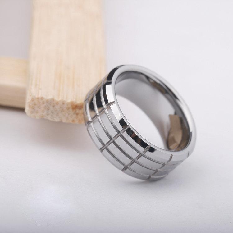 鎢金戒指指環 誇張飾品 中性男女士戒子 單身戒 尾戒