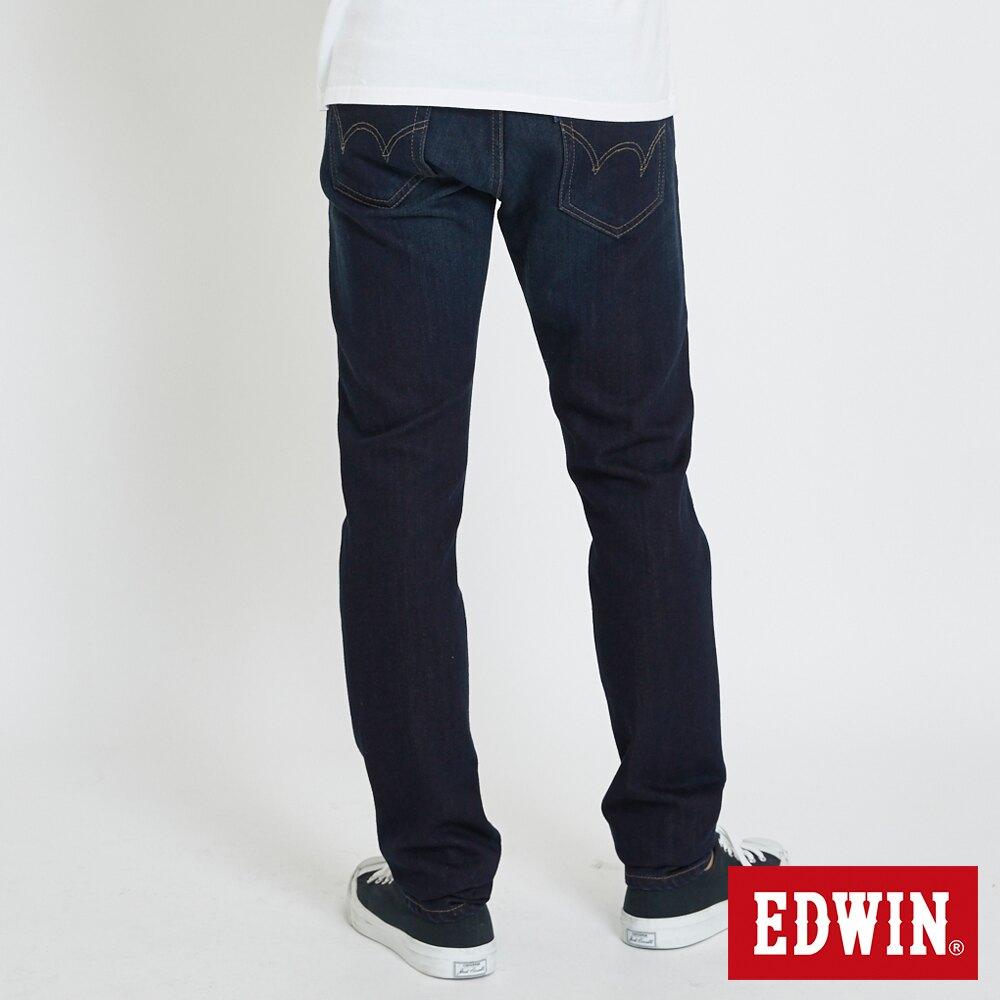 EDWIN 503 基本五袋式重磅 窄直筒牛仔褲-男款 中古藍 SLIM
