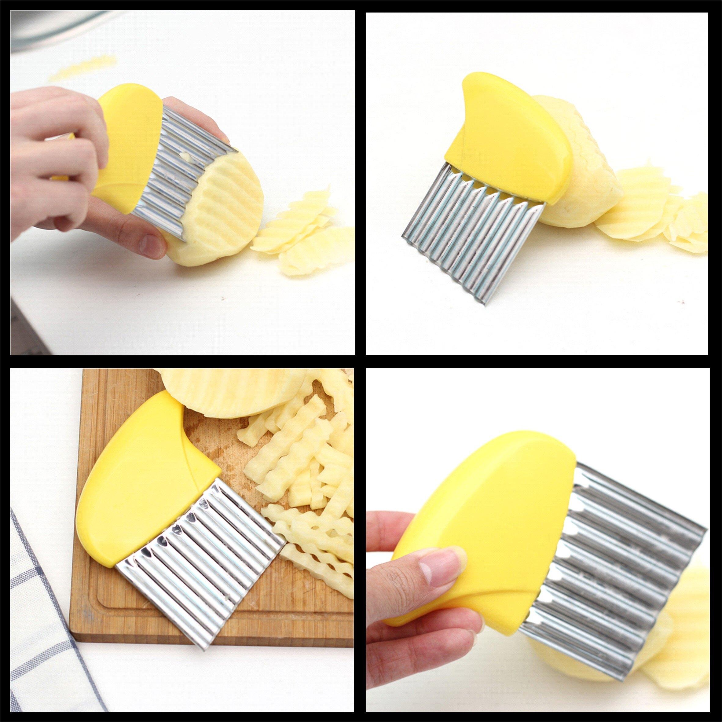 日式馬鈴薯波浪切片刀 紅蘿蔔造型切片刀 刨片刀【居家達人 BA052】