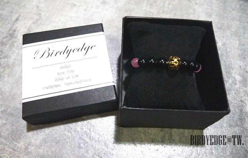 【Birdy Edge】黑色麻腦 貓眼  手環  珠 石頭 免運費實施