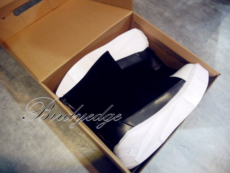 BIRDYEDGE原裝 厚底鞋 鬆糕男鞋 高筒 增高鞋 厚底5CM 超厚底 男靴子 鞋子 高筒 靴 馬丁