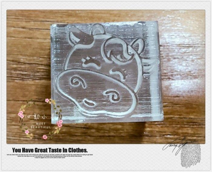可愛兔兔石鹼手工皂DIY材料 工具 手工皂皂章 皂印 皂章 圖案章