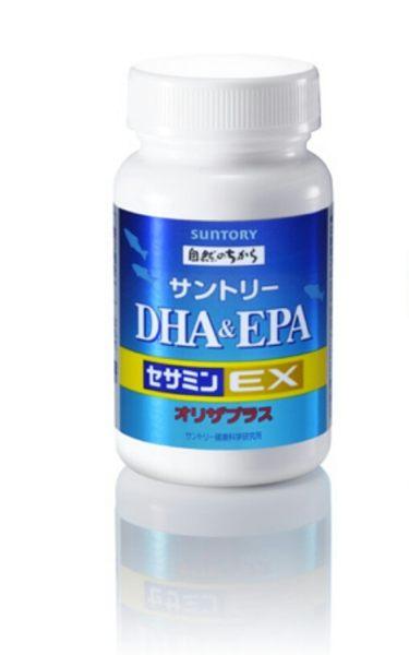 SUNTORY 三得利DHA + EPA + 芝麻明E 240錠