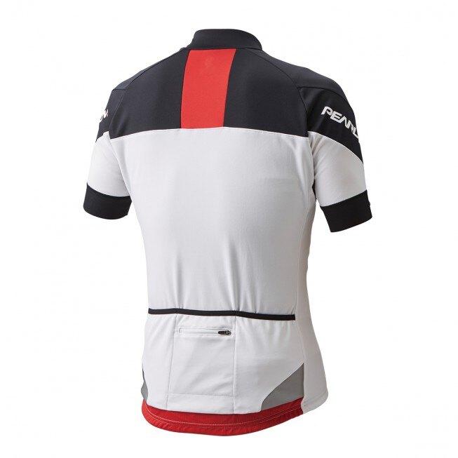 【7號公園自行車】PEARL IZUMI 603-B-3 基本款男性短袖抗菌防臭公路車衣(白/黑/紅)