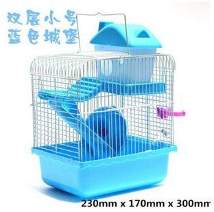 倉鼠籠寵物倉鼠籠子雙層透明豪華大號窩房別墅套餐倉鼠用品