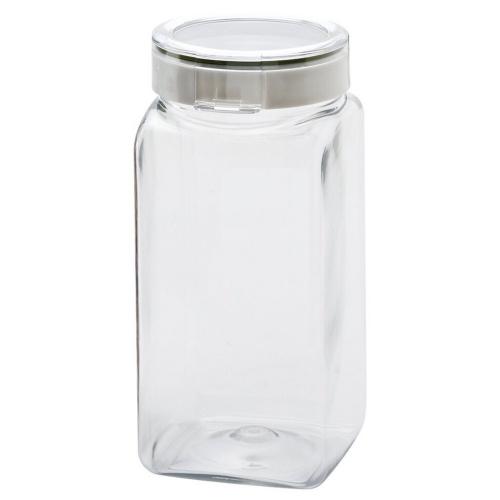 TAKEYA/ 日本製 角型輕量氣密保存罐1.7L