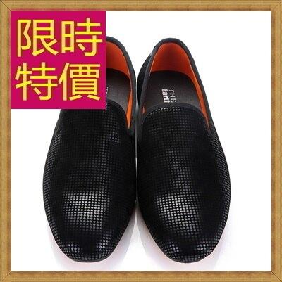 ★樂福鞋休閒鞋-英倫學院風懶人男皮鞋3色59p5【韓國進口】【米蘭精品】