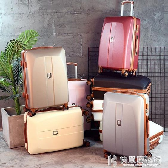 行李箱20吋密碼拉桿箱女旅行韓版男NMS