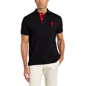 U.S. Polo Assn. SHIRT メンズ US サイズ: Large カラー: ブラック