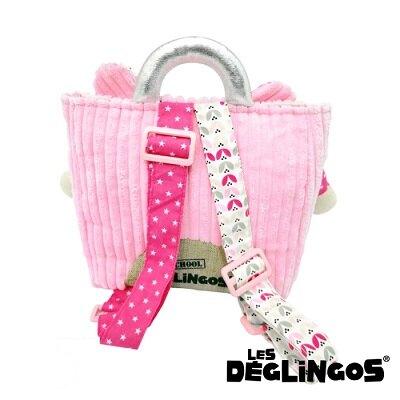 法國 Les Deglingos 立體玩偶兒童背包-老鼠 (COQUELICOS)