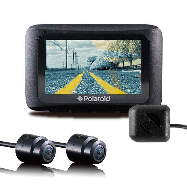 【贈32G卡+主機防塵套+強力固定磁鐵】Polaroid 寶麗萊 MS273WG 小蜂鷹 夜視雙鏡 GPS機車行車記錄器【禾笙科技】
