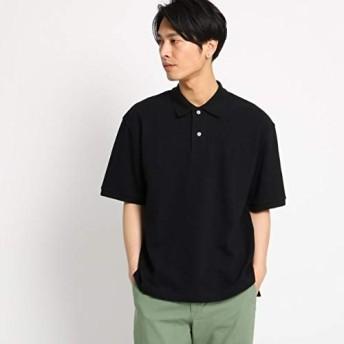 (ザ ショップ ティーケー) THE SHOP TK ビッグシルエットポロシャツ 61636710 03(L) ブラック(019)