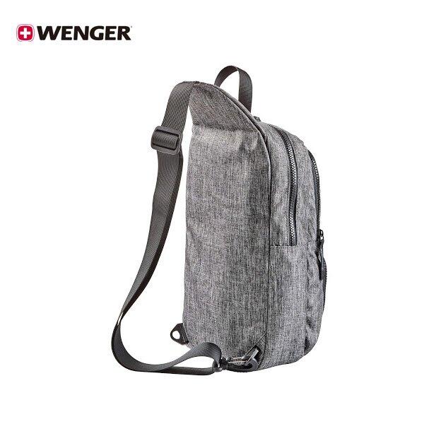 【加賀皮件】WENGER CONSOLE 輕量 側背包 斜肩包 單肩包 雪花灰 605029