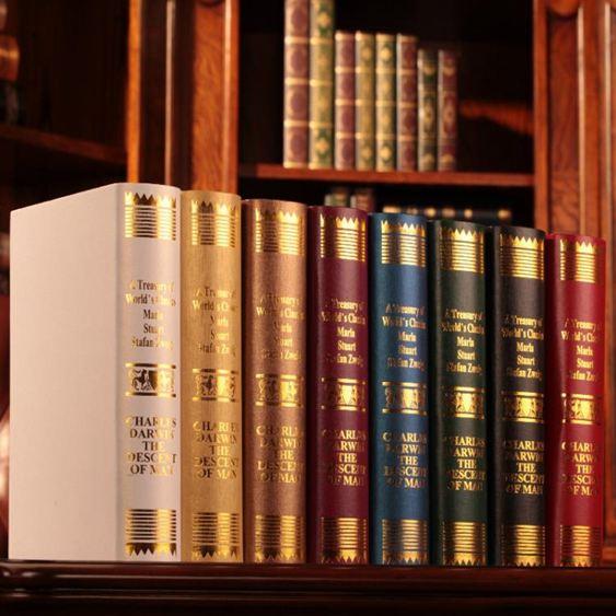 歐式仿真書假書裝飾書擺件書房道具書裝飾品客廳創意擺設家居飾品