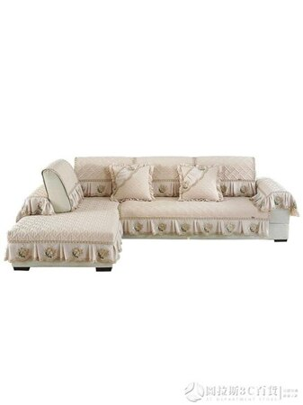 沙發墊四季通用布藝防滑簡約現代123組合巾坐墊全包蓋布萬能套罩