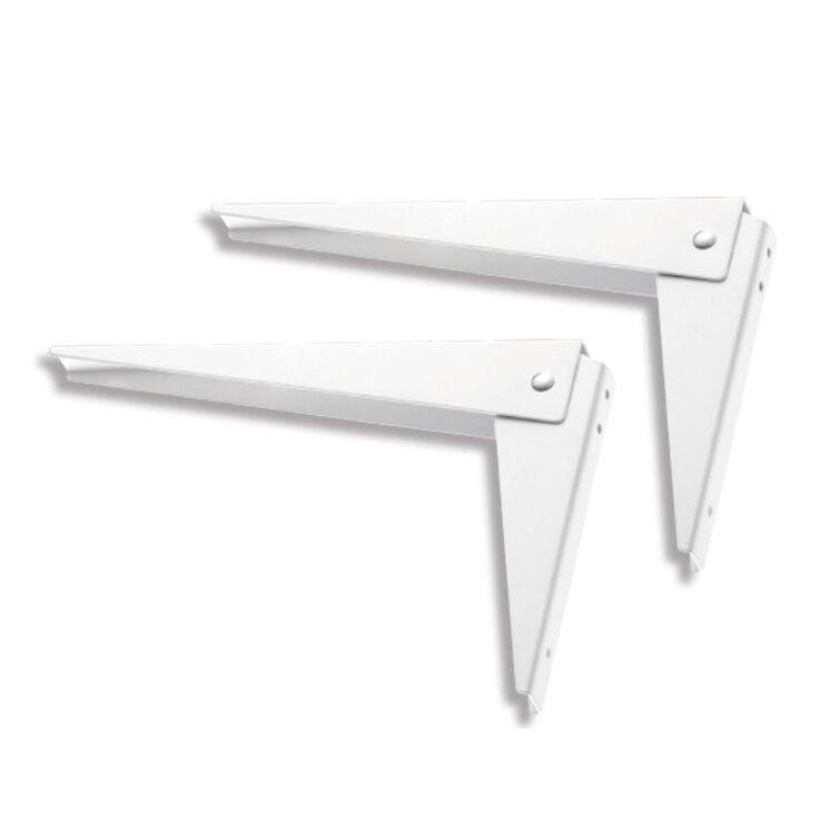 L14WT 活動折合支架 易利裝生活五金 層板架  三角架 L架 折疊架