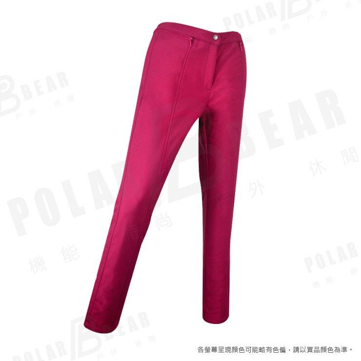 【POLAR BEAR】女WINDSTOPPER防風煙管長褲-16P34