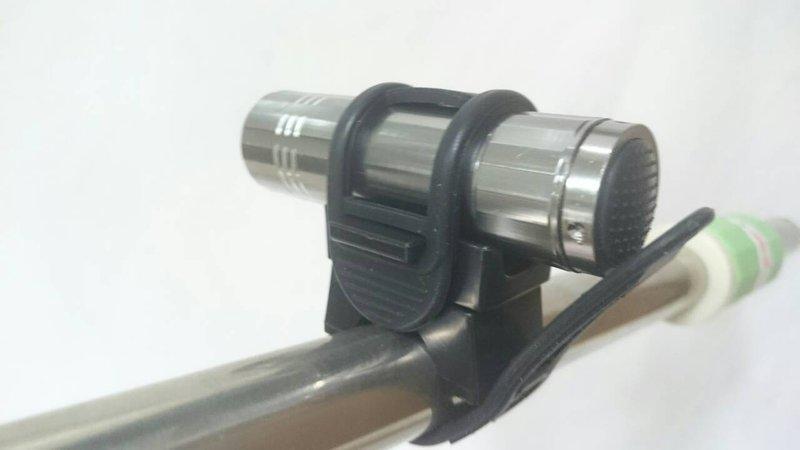 【八八八】e網購~【360度手電筒表帶式固定扣(不含手電筒)】333260自行車燈夾 自行車用品 腳踏車用品
