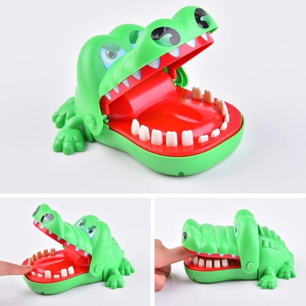 【免運】咬手指鱷魚玩具抖音同款創意咬手鯊魚海盜桶親子整蠱玩具禮物 一米陽光 喜迎新春 全館8.5折起