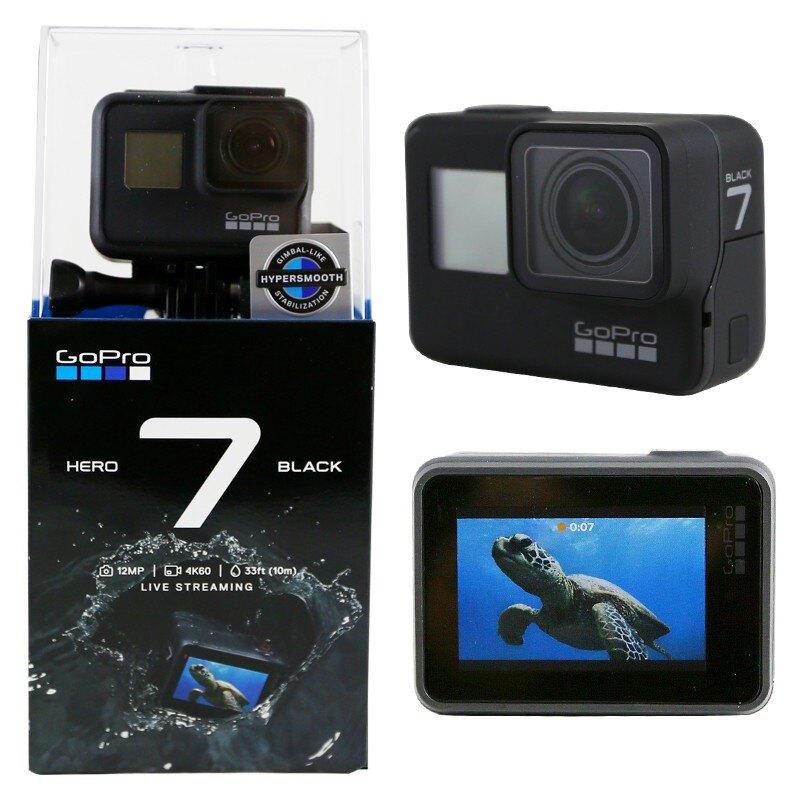 最高回饋10%[全店97折]【建軍電器】原廠公司貨 頂級 Gopro Hero 7 Black 縮時攝影 運動攝影機 防水10M (非Hero 6)