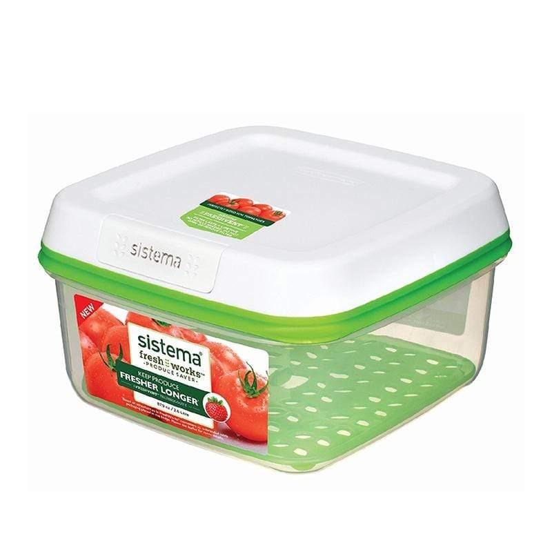 紐西蘭進口Fresh Works蔬果保鮮盒2.6L-53120