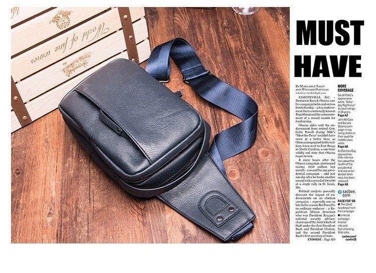 FINDSENSE品牌 韓國 新款  FIN韓國出品 包款 時尚 男士 胸包 腰包 休閒 運動 單肩包 潮流