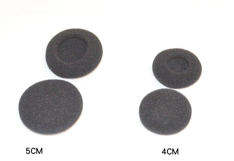 志達電子 中耳耳棉 4mm加厚 3.5CM 4CM 5CM 耳掛式 耳機 棉套 海棉套 耳棉 EQ300 EQ500