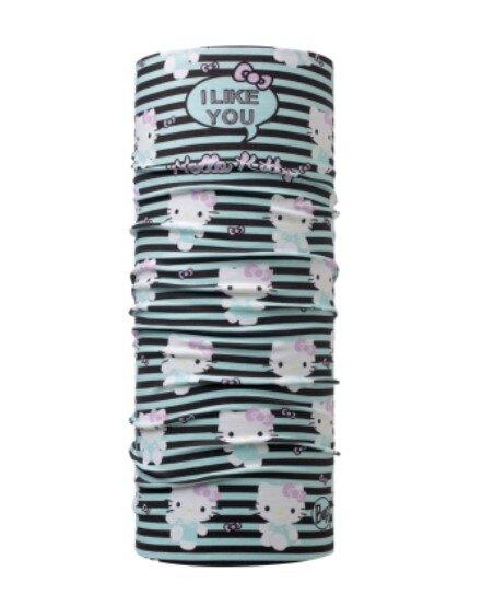 【【蘋果戶外】】BF118298 BUFF 西班牙 NEW 經典頭巾 Plus 魔術頭巾 KITTY 沉穩凱蒂 四向彈性