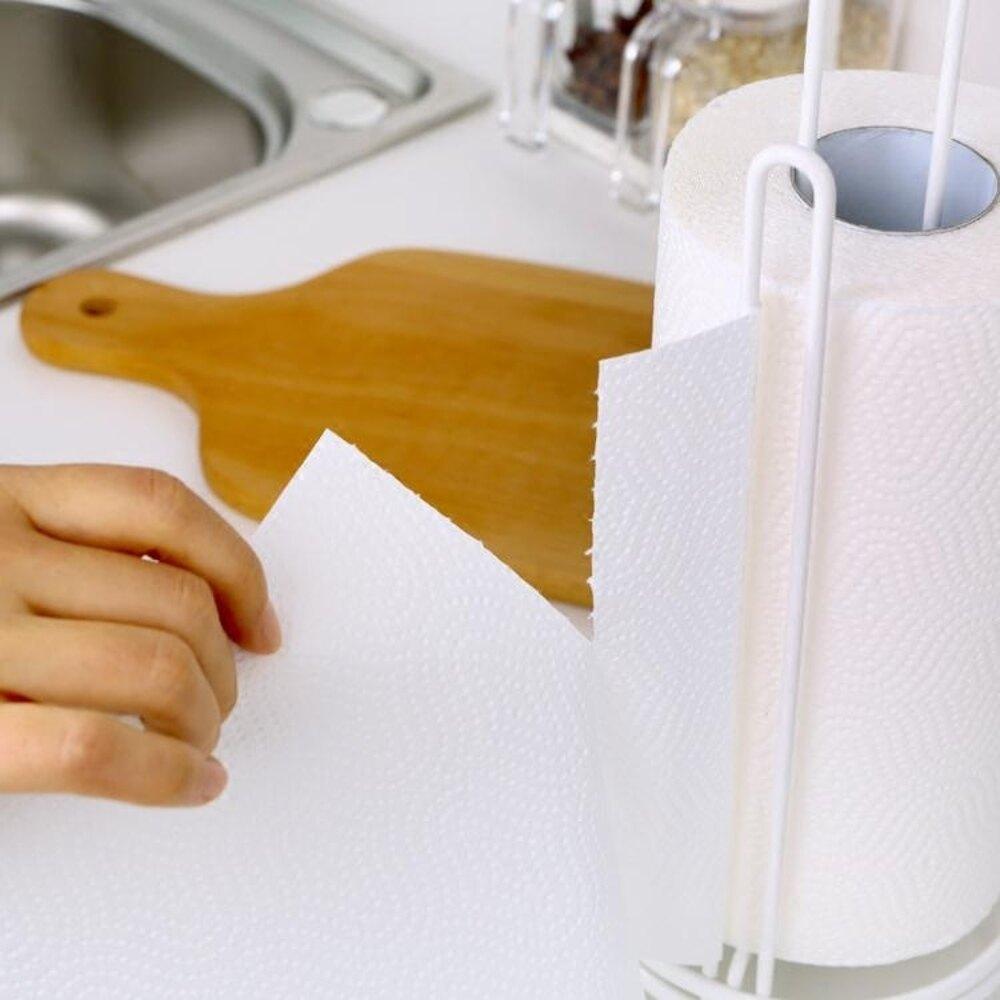 紙巾架日本ASVEL廚房紙巾架 廚房用紙收納架 不銹鋼臺面立式長卷紙架 嬡孕哺 母親節禮物
