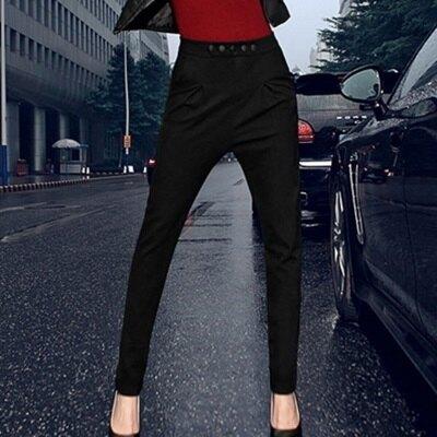 ☆哈倫褲 高腰休閒長褲-獨特個性立體剪裁女褲子72au5【獨家進口】【米蘭精品】