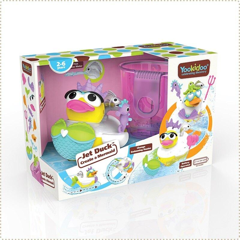 以色列Yookidoo 戲水玩具 - 小美人鴨【母親節推薦】