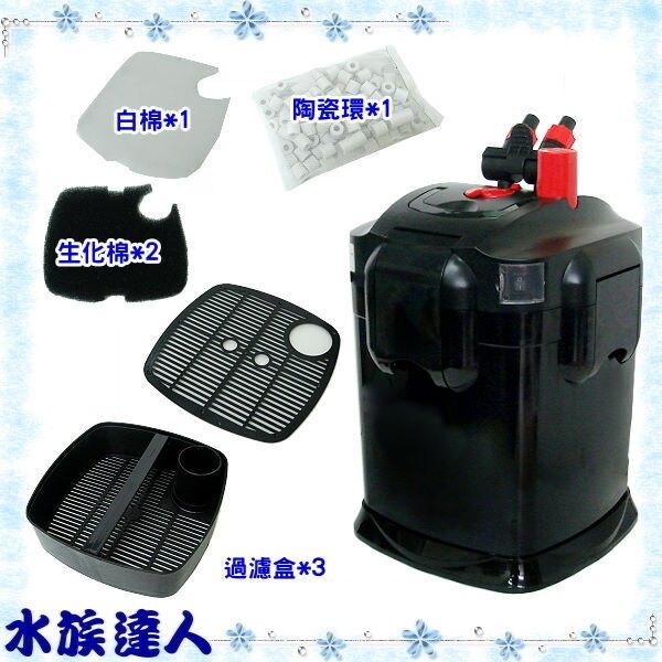 【水族達人】水世界AQUA WORLD《1800桶式過濾器.G-055》外置式圓桶過濾器