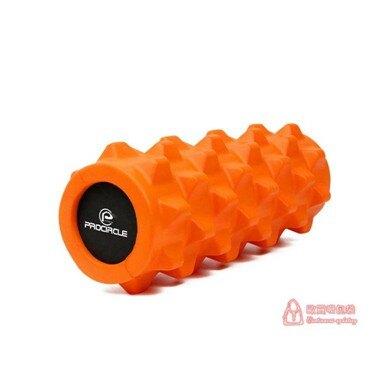 免運 瑜伽柱 瑜伽柱實心狼牙棒瑜伽泡沫軸滾筒輪健身房深度按摩肌肉放松T 6色