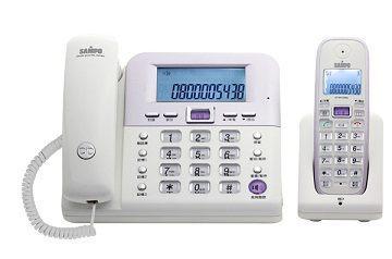 【威利家電】 【分期0利率+免運】聲寶 數位2.4GHz無線子母電話CT-W1103NL(藍、白兩色可選)