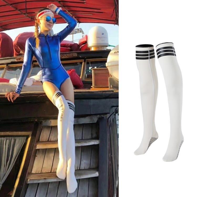 潛水襪女長筒浮潛襪子防劃傷防珊瑚保暖游泳襪過膝冬泳潛水裝備