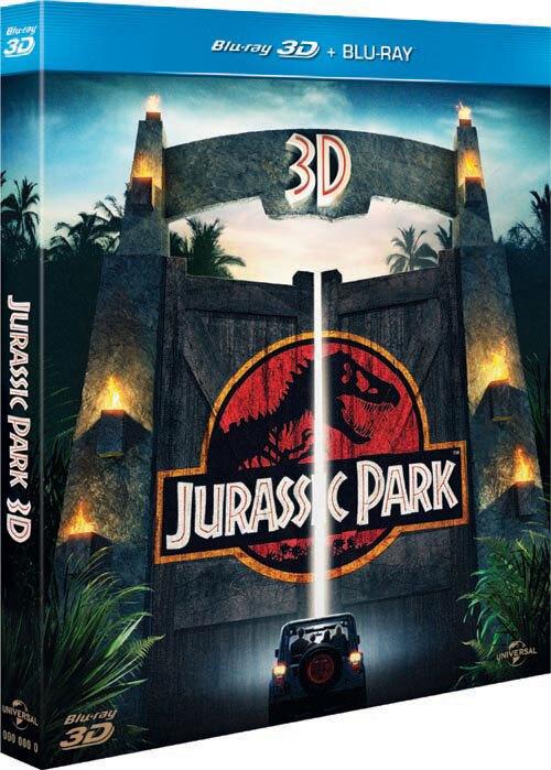 侏羅紀公園 (雙碟版3D+2D) JURASSIC PARK 3D
