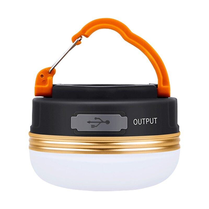 可掛式LED露營燈 三檔調光 USB充電帳篷燈 帶磁鐵露營燈 夜釣燈 野營掛燈【OF0025】普特車旅精品