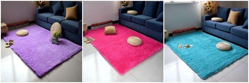 加厚絲毛地毯.客廳.地毯.床鋪.地毯 可以水洗的唷 60*160 11色供應 ike