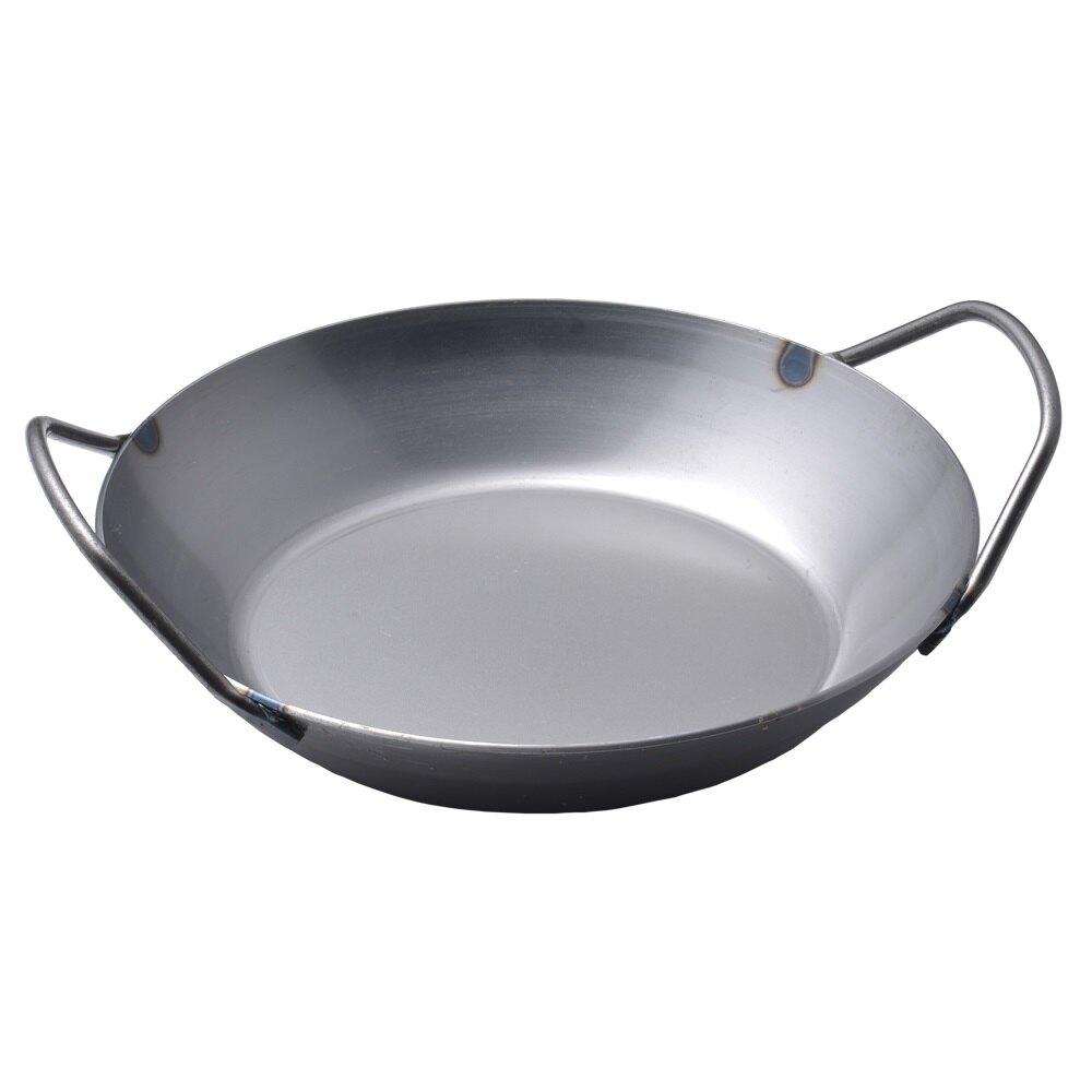 【德國Turk】雙耳冷鍛鐵鍋24cm 66924 德國製 (Turk碳鋼鍋 Turk鐵鍋 Turk 24cm turk雙耳鍋 土克)