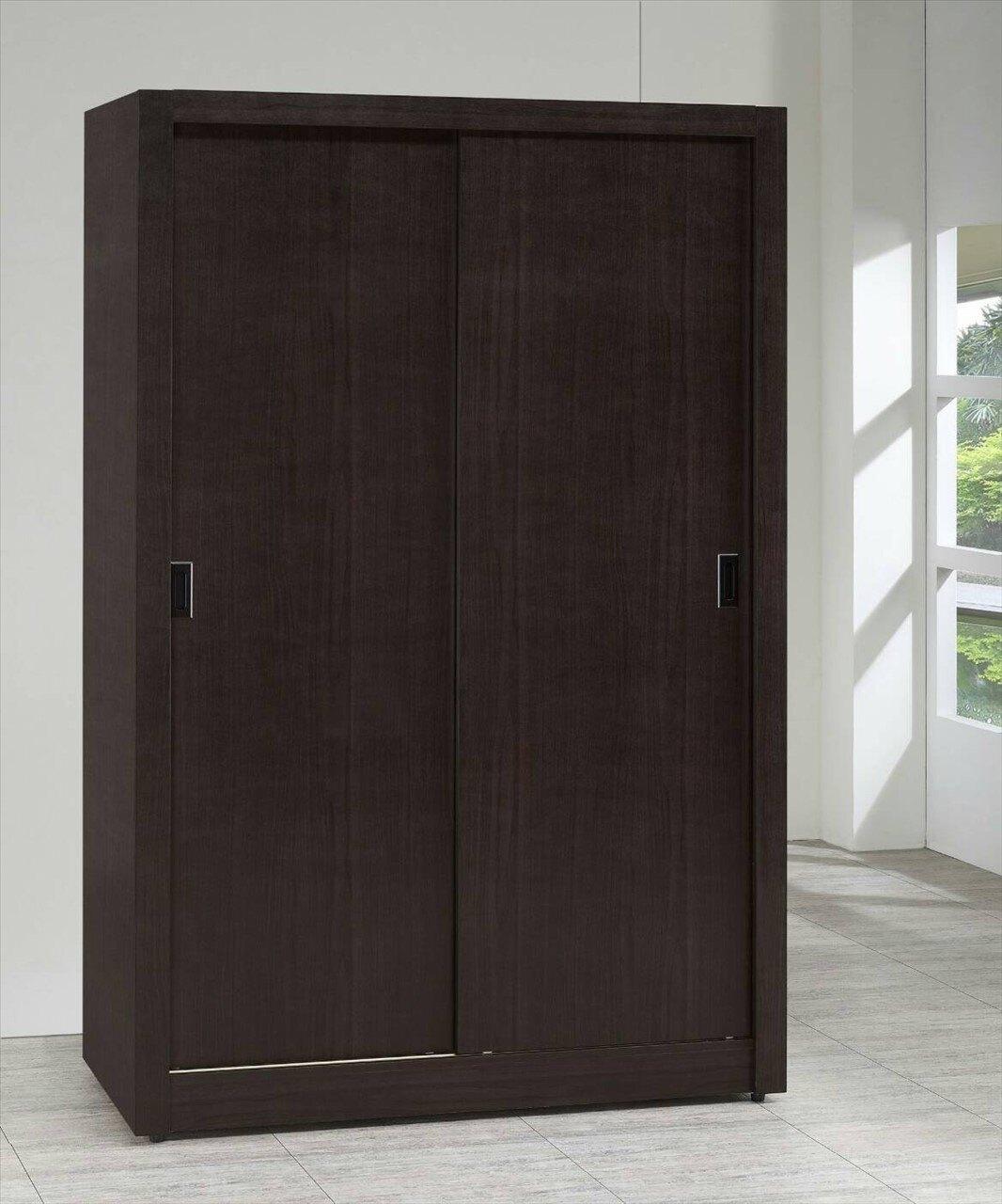 【石川家居】GH-4744 柚木集成材木心板結構4*7尺衣櫃 可客製化 四色可選 (不含其他商品) 台中以北搭配車趟免運